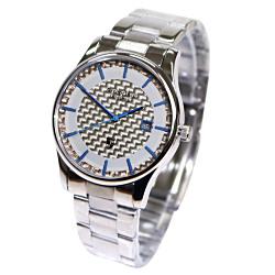 Arseprince 碳纖科技時尚風潮中性錶-藍色/32mm