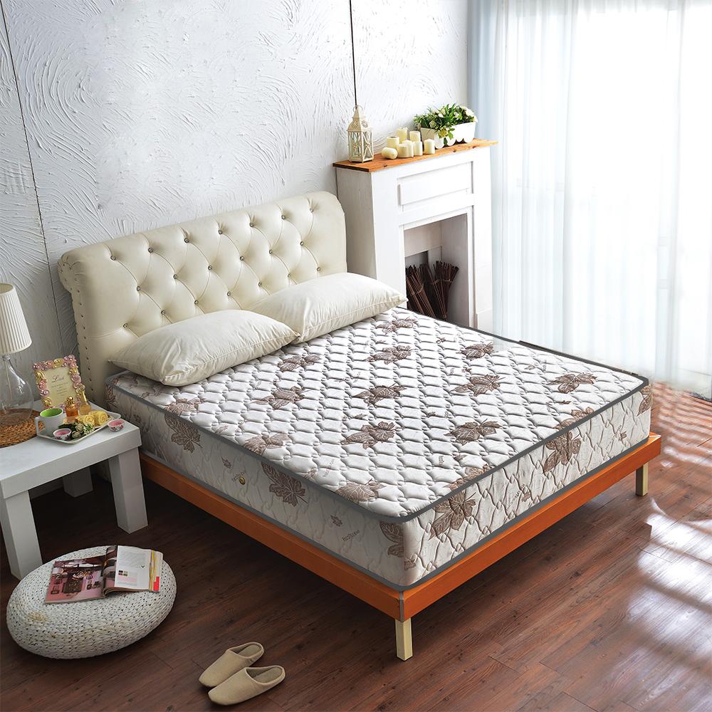 Ally愛麗 乳膠涼感抗菌 側邊強化獨立筒床墊 單人3.5尺