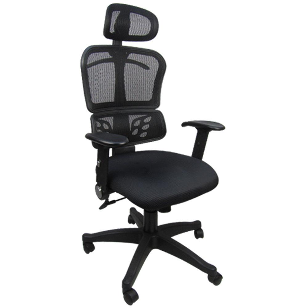 邏爵 時尚紳士網背辦公椅/電腦椅