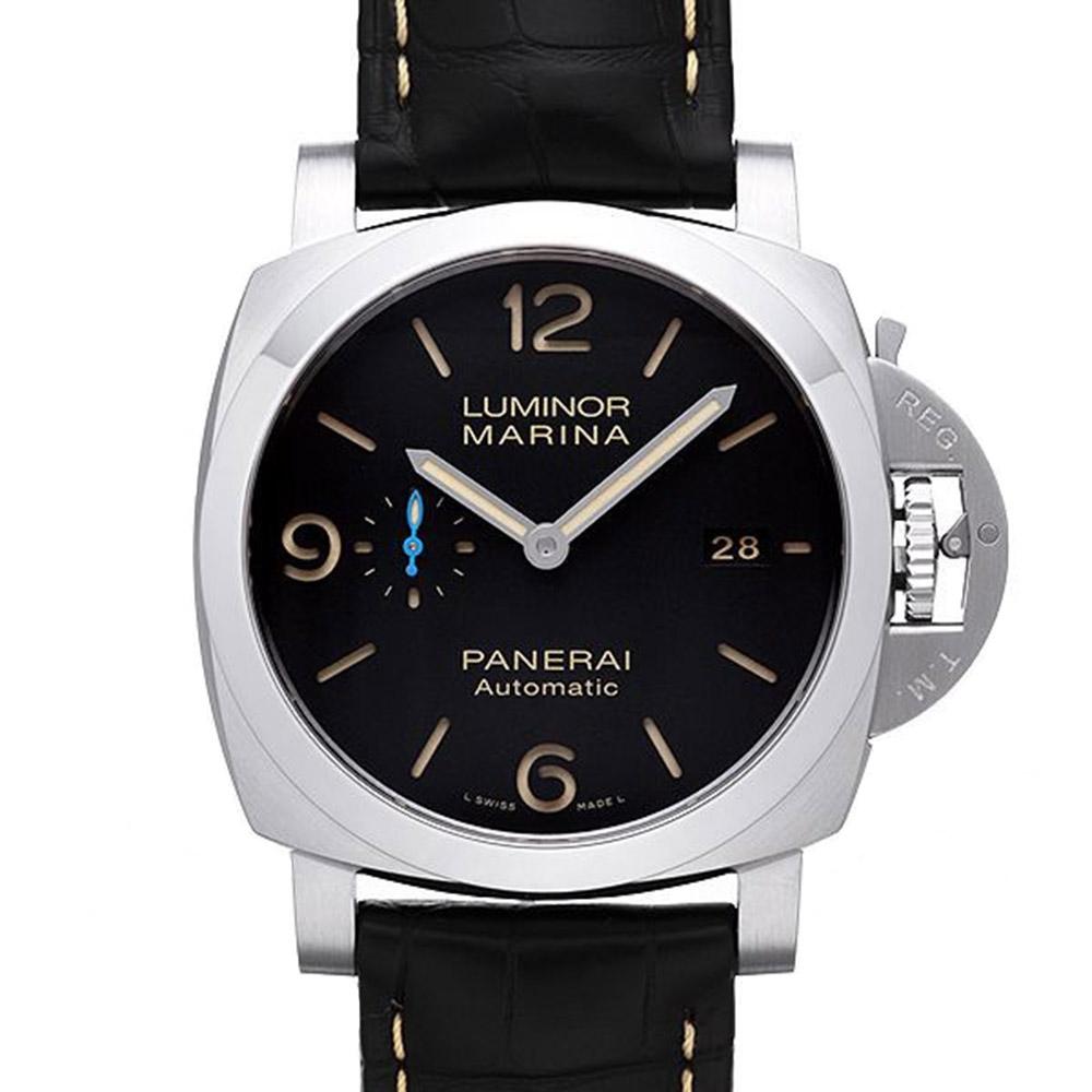 PANERAI 沛納海  Luminor PAM01312 三日鍊皮帶款-44mm