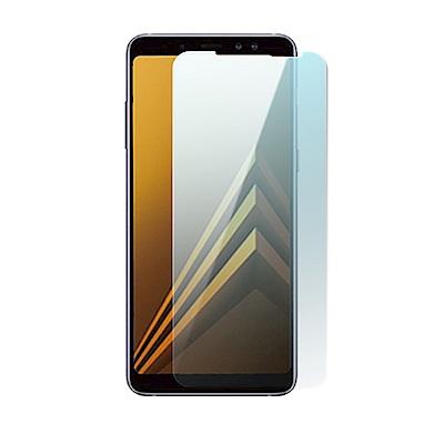 Samsung Galaxy A8+ 疏水疏油超硬9H鋼化玻璃保護貼(2018新...