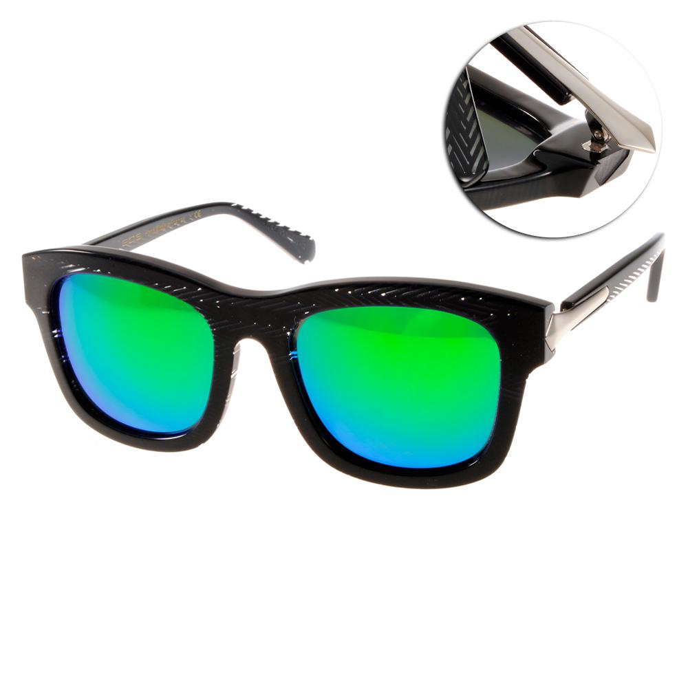 EOS偏光太陽眼鏡 摩登時尚/錯視黑#EOSE9007 L15
