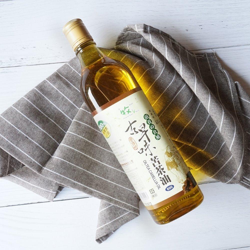 牧馬 頂級古早味100%苦茶油(600mlx2瓶)