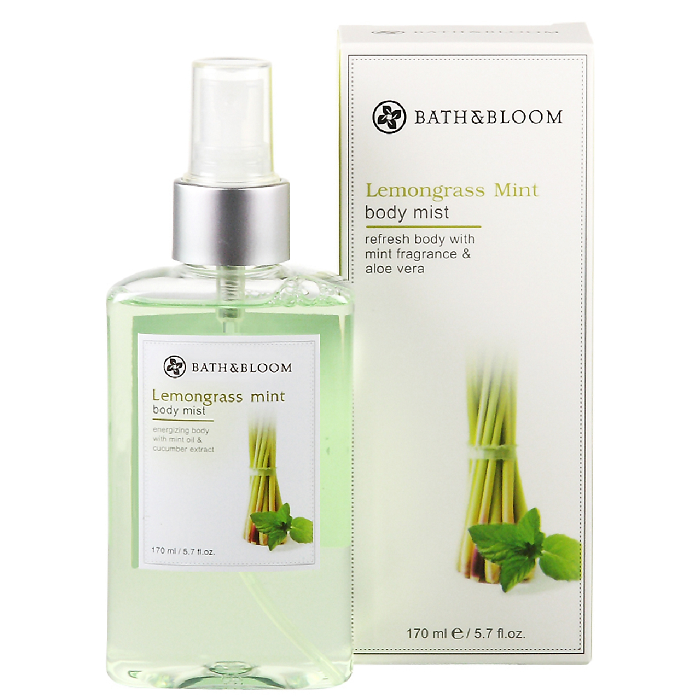 Bath & Bloom 檸檬草薄荷美體淡香水 170ml