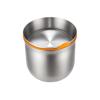 JVR 韓國原裝不銹鋼保鮮罐 500ml(黃)