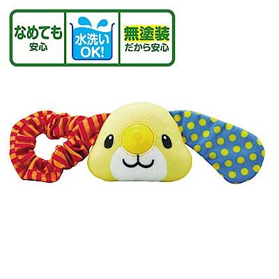 日本People-大耳狗手環咬舔玩具(3m+)(固齒器)