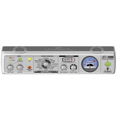 BEHRINGER MIC800 模擬真空管Mic / Line放大器