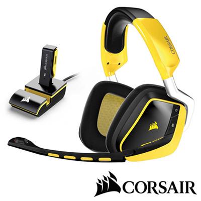 CORSAIR-GAMING-VOID-杜比7-1-RGB無線耳機麥克風-黃