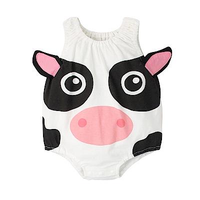 baby童衣 可愛動物款 無袖連身衣 41271