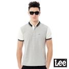 Lee 休閒短袖POLO衫-男款-灰色