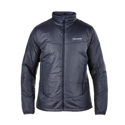 【Berghaus貝豪斯】男款溫度調節超輕高科技棉防風外套H22MT5-灰