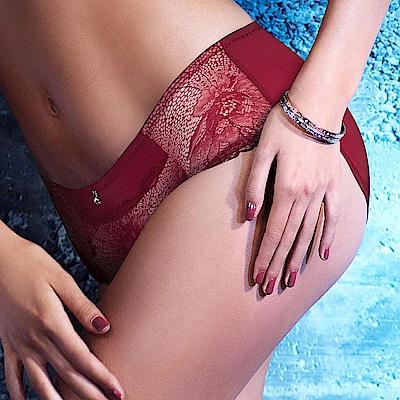 黛安芬-艾聖思‧戀法情節系列M-EL平口內褲(紅)