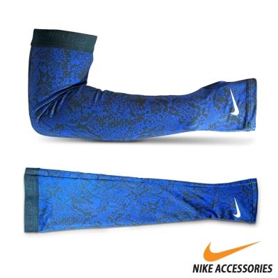 NIKE PRO印花臂套 藍白款(XS/S) - 快速到貨