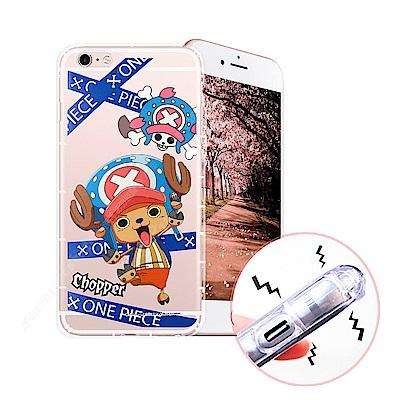 航海王 iPhone 6s Plus 5.5吋 透明軟式空壓殼(封鎖喬巴)