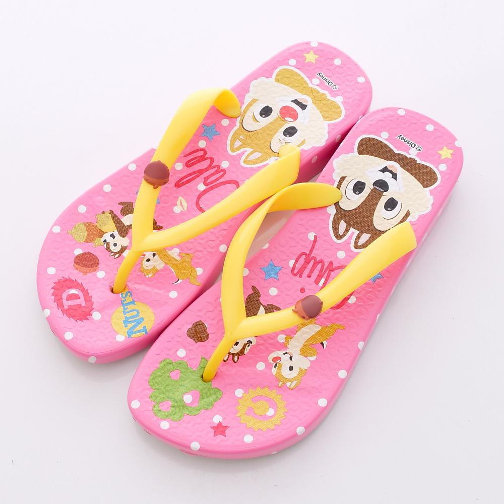 Disney迪士尼-奇奇&蒂蒂繽紛夾腳鞋-44024704粉(女段)