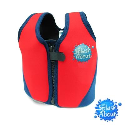 《Splash About 潑寶》 兒童浮力夾克 -  海軍藍 / 紅色 3-6歲