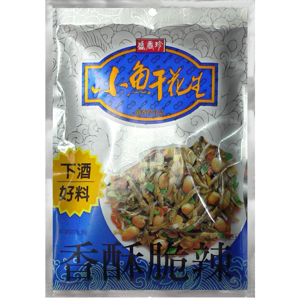 盛香珍 小魚干花生(80g)
