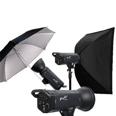 Piyet 大型專業攝影棚雙燈組合 ( PK-300G )