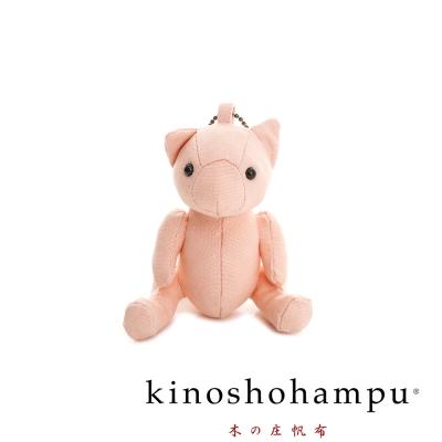 kinoshohampu 日本限量經典吊飾熊公仔 胭脂粉