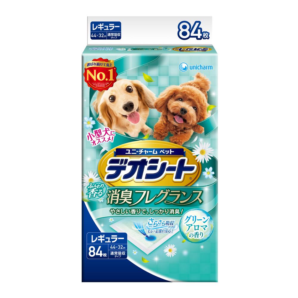 日本Unicharm 消臭大師 森林香狗尿墊(M)(84片/包)