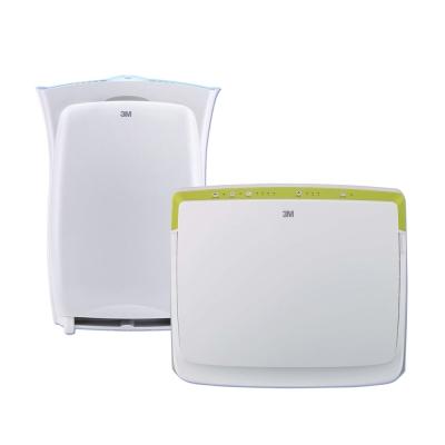 3M淨呼吸超優淨+超濾淨型空氣清淨機(7坪+6坪超值組) N95口罩濾淨原理