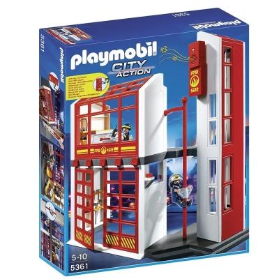 playmobil 救火系列 消防救援隊總站豪華組
