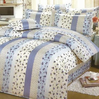 艾莉絲-貝倫 玫瑰公主 高級混紡棉 雙人加大鋪棉床罩六件組