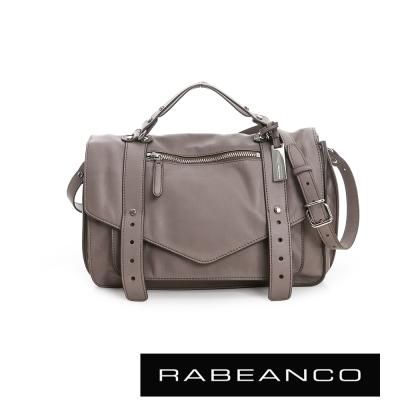 RABEANCO-Modern現代美學系列雙飾帶包-小-灰