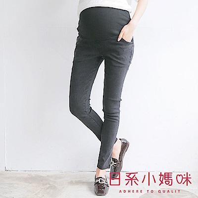日系小媽咪孕婦裝-孕婦褲~顯瘦彈力仿牛仔長褲 M-XXL (共三色)