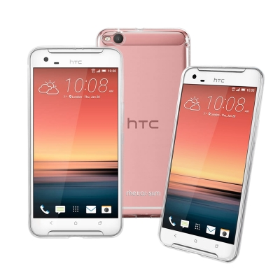Metal-Slim HTC One X9 dual sim 時尚超薄TPU透明...