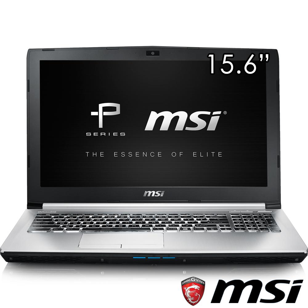 MSI微星 PE60-822 15吋筆電(i7-6700/GTX960/128G+1T/8G)