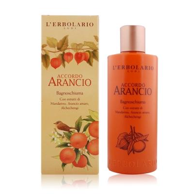 L-ERBOLARIO 蕾莉歐 橙香柑橘香氛沐浴乳(250ml)
