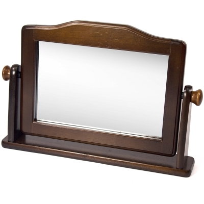 aaronation 愛倫國度 - 實木材質經典復古桌鏡UB-YR607-BR