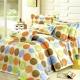 艾莉絲-貝倫 圓夢計畫 100%純棉 二件式單人枕套床包組(青綠色) product thumbnail 1