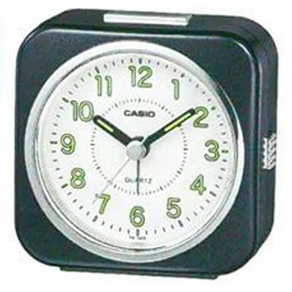 CASIO 桌上型指針鬧鐘(TQ-143S-1)-黑色