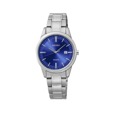 SEIKO精工 絢麗雅緻石英女錶(SXDG33)-藍色/29mm