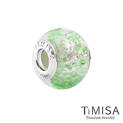 TiMISA 涼爽(11mm)純鈦琉璃 墜飾串珠