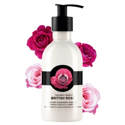 The Body Shop 玫瑰嫩膚身體菁華乳-250ML