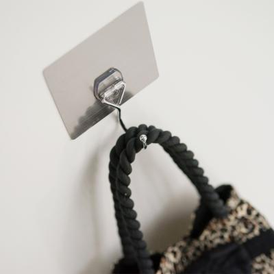 完美主義 髮絲紋第二代無痕貼系列-萬用單掛勾-2入組