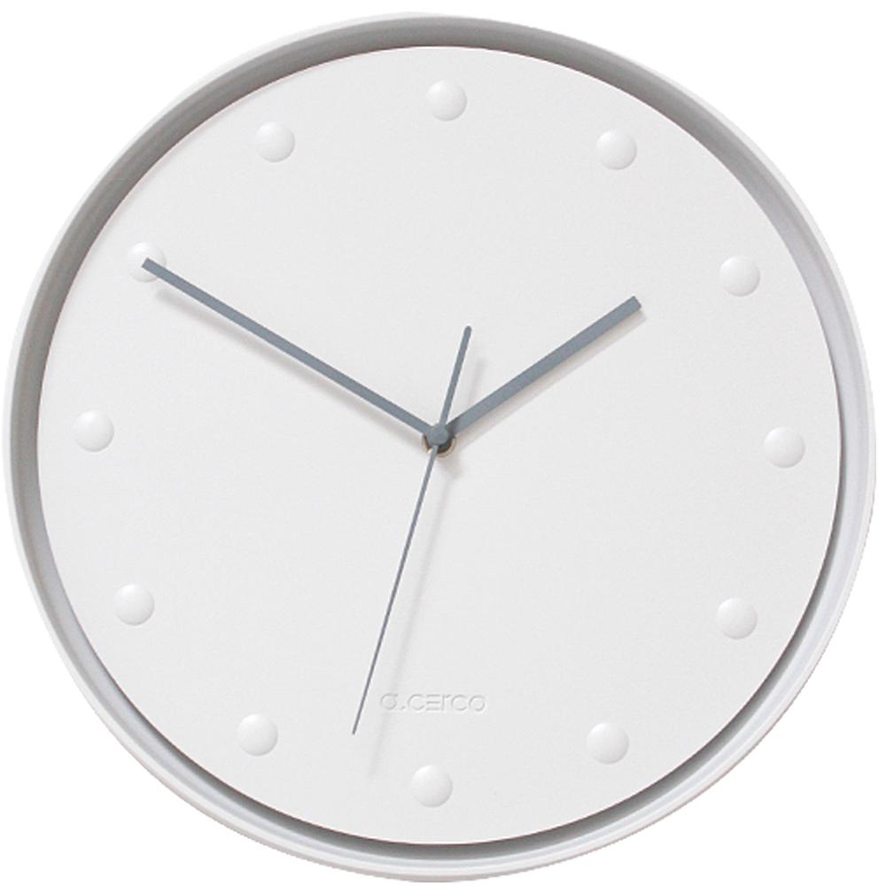 a.cerco 北歐極簡風時鐘-白點