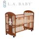 ( 美國 L.A. Baby)卡羅萊納嬰兒中床/搖擺床/童床(咖啡色) product thumbnail 1