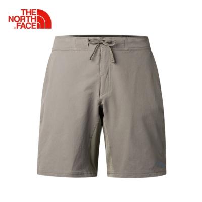 The North Face男款棕色吸濕排汗防潑水短褲