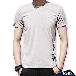 彈性素面短袖T恤 三色-HeHa
