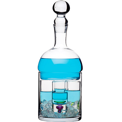 KitchenCraft Mixit保冰烈酒瓶+4杯組