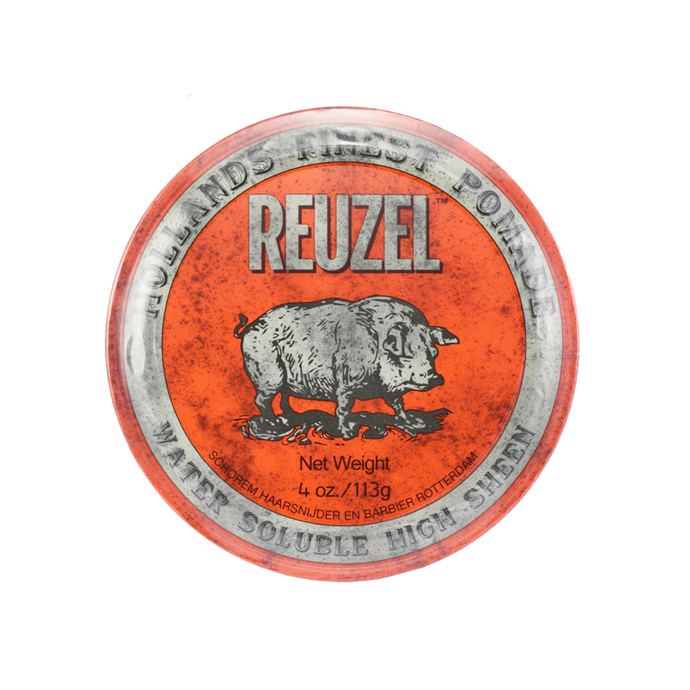 (即期品)REUZEL 紅豬水洗式髮油113g