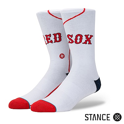 STANCE RED SOX HOME-男襪-休閒襪-MLB波士頓紅襪隊主場球衣款