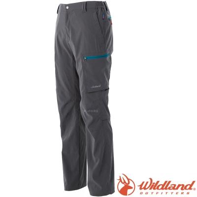 Wildland 荒野 0A51362-95鐵灰 男 四彈多口袋抗UV長褲