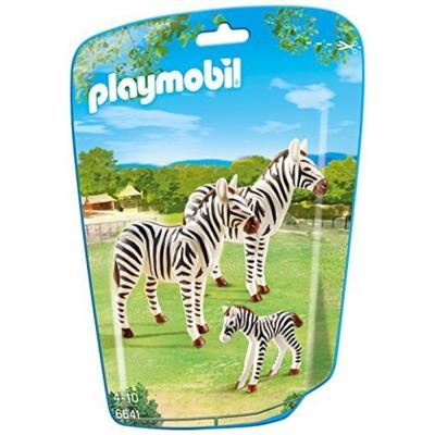 playmobil-可愛斑馬一家