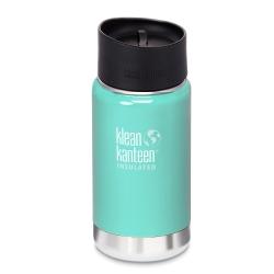 美國Klean Kanteen寬口保溫鋼瓶355ml-冰河藍