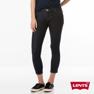 Levis 女款 711 中腰緊身窄管牛仔長褲 亞洲版型 九分褲 中彈力布料